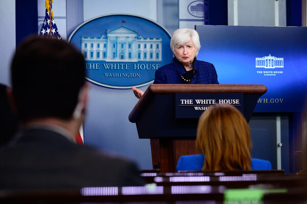 """Treasury Secretary Janet Yellen said that her agency lacks sufficient resources to oversee an economic recovery that still has """"a long road ahead"""" and called on Congress to provide her with more funds."""