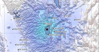 Small Earthquakes Rattle Lake Tahoe, Carson City and Reno