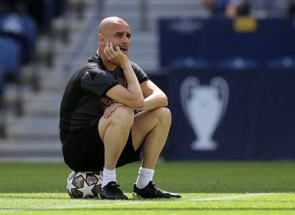 Manchester City's Pep Guardiola has won the Champions League as a player and as a manager. But not with Manchester City.