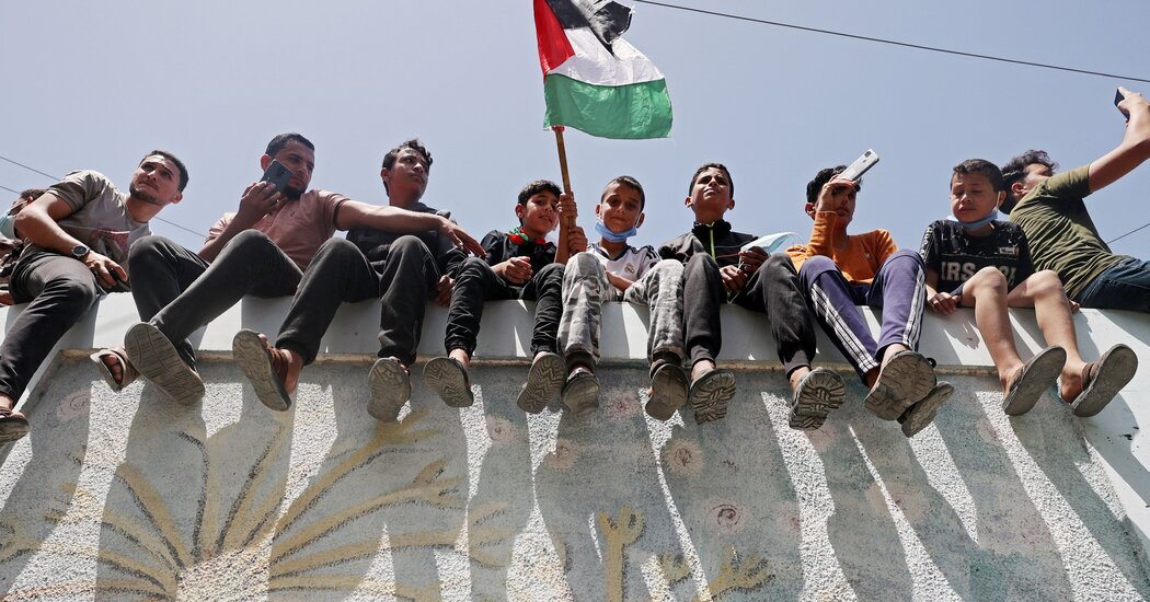 As Israelis Await Netanyahu's Fate, Palestinians Seize a Moment of Unity