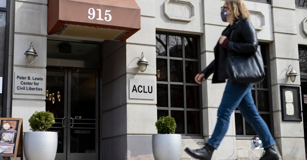 Once a Bastion of Free Speech, the A.C.L.U. Faces an Identity Crisis