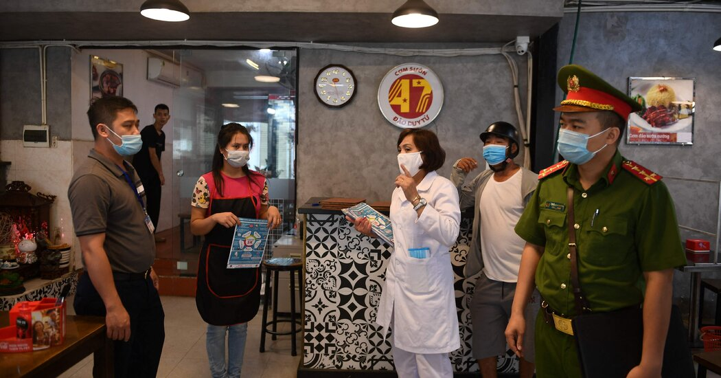 Spared for Months, Vietnam Faces a Wave of New Infections