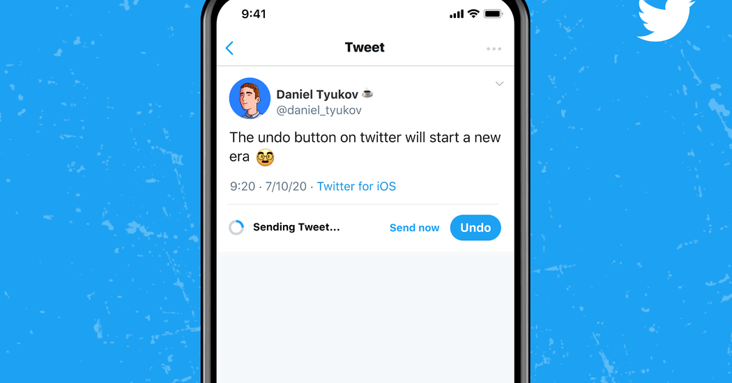 Twitter will now allow you to undo tweets — if you pay.