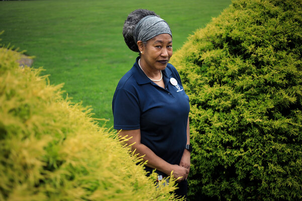 Sharon McCown, a Target employee in Louisville, Ky., received hazard pay as well as a raise, which helped her to save more money than she otherwise would have been able to.