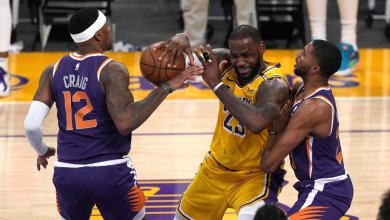 Lakers Eliminated from Playoffs With Game 6 Loss to Suns