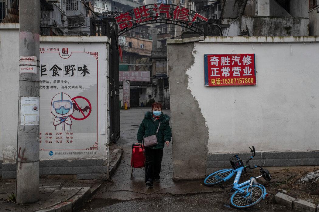 1月,武汉的一张宣传海报建议人们拒绝食用野味。