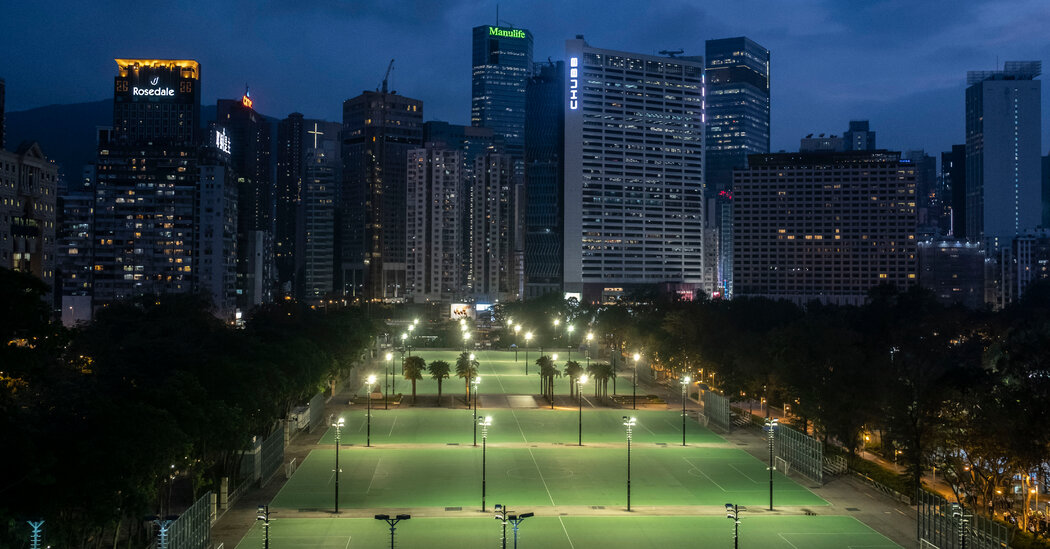 Hong Kong, Newly Constrained, Tries to Remember Tiananmen Massacre