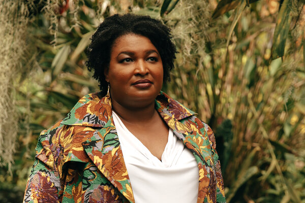 Stacey Abrams and the voting organization she leads, Fair Fight Action, are using a vast texting campaign, virtual events and a paid media campaign to rally support for an expansive federal elections bill.