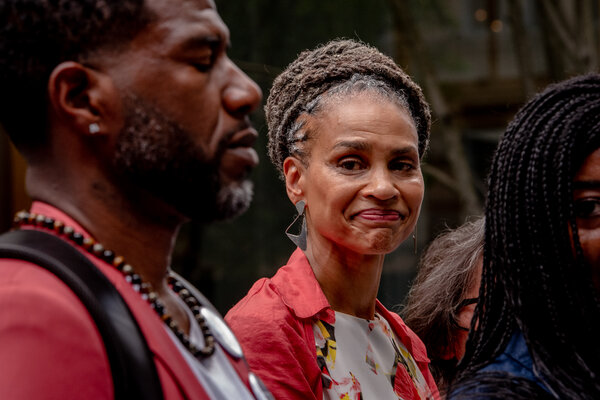 """Maya Wiley is a civil rights lawyer who says her """"New Deal New York"""" plan would create 10,000 affordable housing units and 100,000 jobs."""