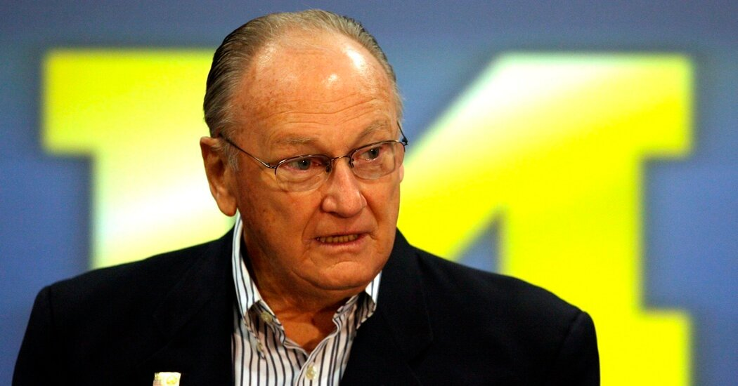 Son of Bo Schembechler Says He Was Abused by Michigan Team Doctor