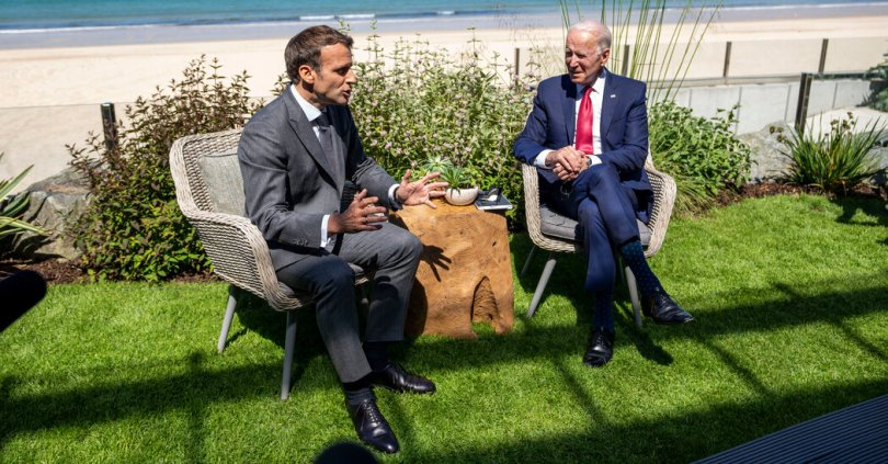 To Counter China's Belt-and-Road, Biden Tries to Unite G7