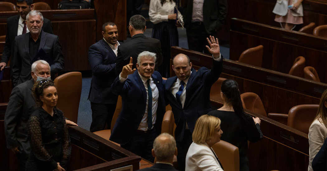 Netanyahu Ousted as Israeli Parliament Votes in New Government