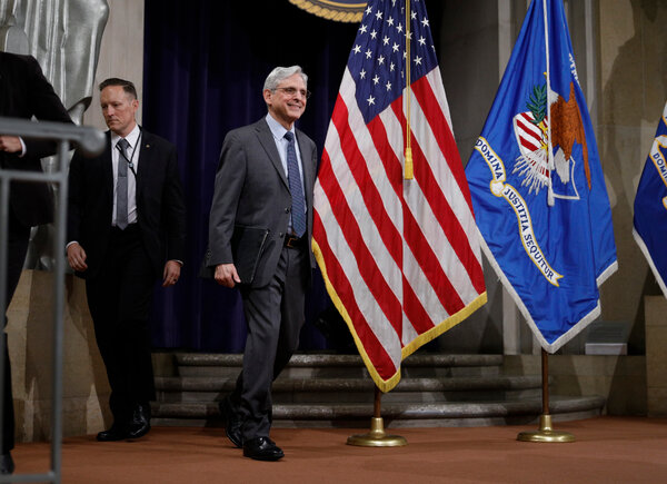 Attorney General Merrick Garland is meeting on Monday with leaders from three news organizations that were targeted by the Trump Justice Department.