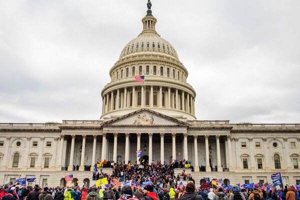 President Donald J. Trump's supporters took over the Capitol on Jan. 6, 2021.