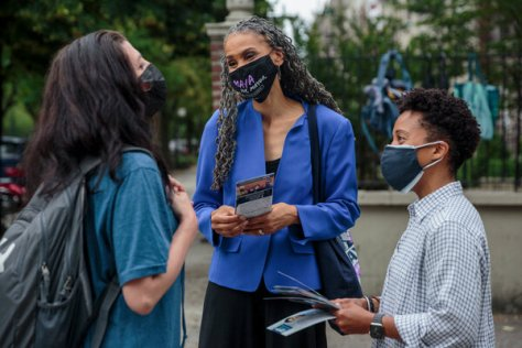 Maya Wiley has sought to unite progressive voters behind her candidacy for mayor. Some activists, however, have focused on down-ballot races.