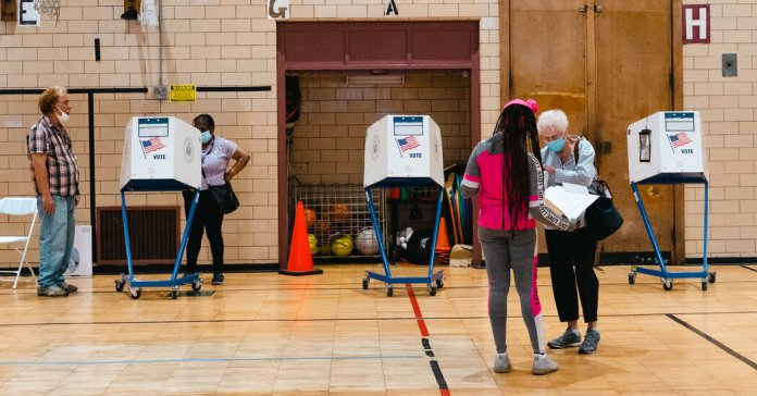 Primary Day in New York: Rain, Short Lines and a New Kind of Ballot