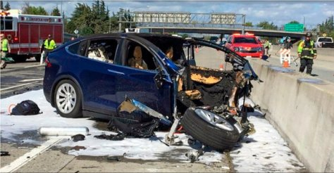 A 2018 accident in Mountain View, Calif., killed the driver of a Tesla Model X when Autopilot was engaged.
