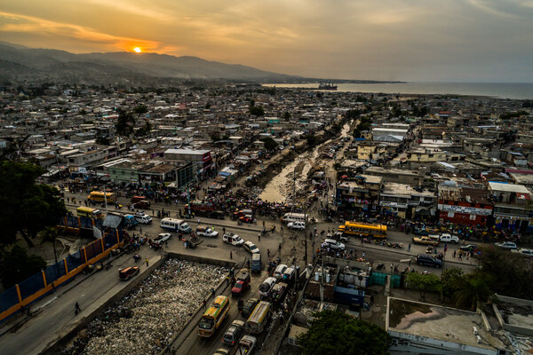 Haiti's capital, Port-au-Prince, in 2017.