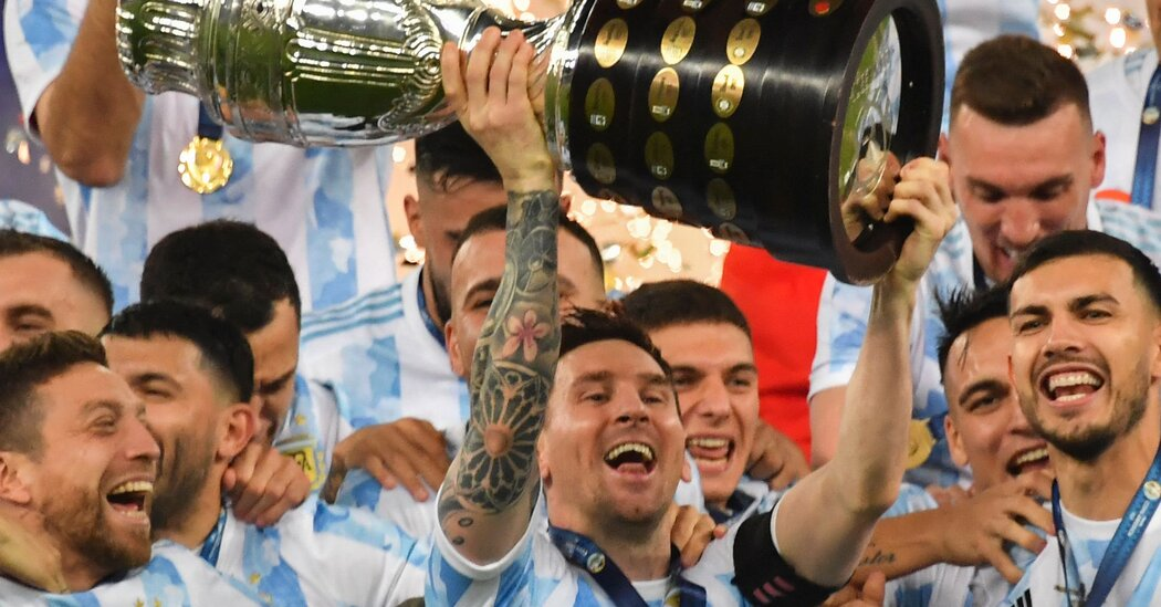 Messi Wins First Title With Argentina, Against Brazil in Copa América