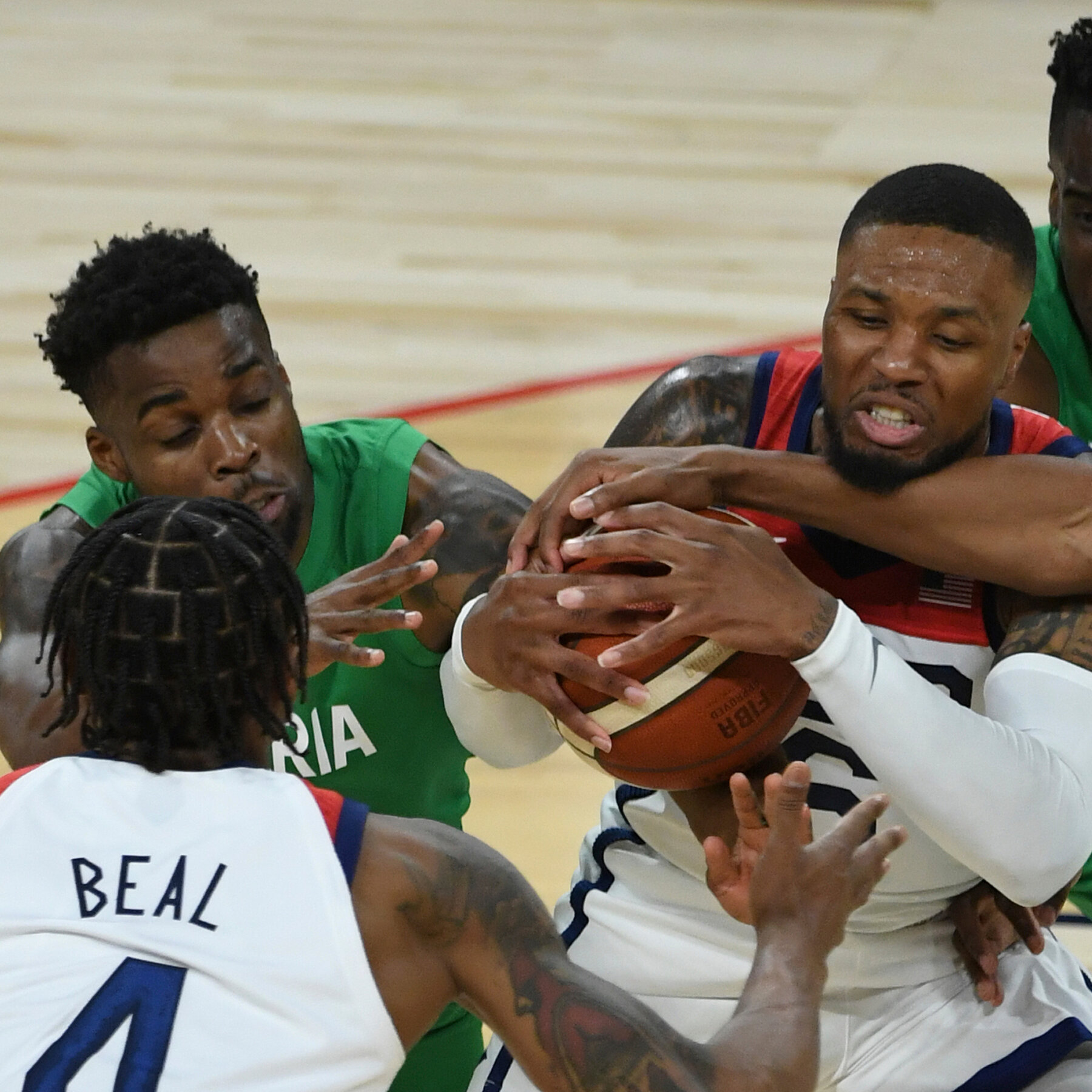 International basketball games from leagues around the globe, olympics, world championships and more. Nigeria Wins Historic Upset Over Team U S A In Olympic Exhibition The New York Times