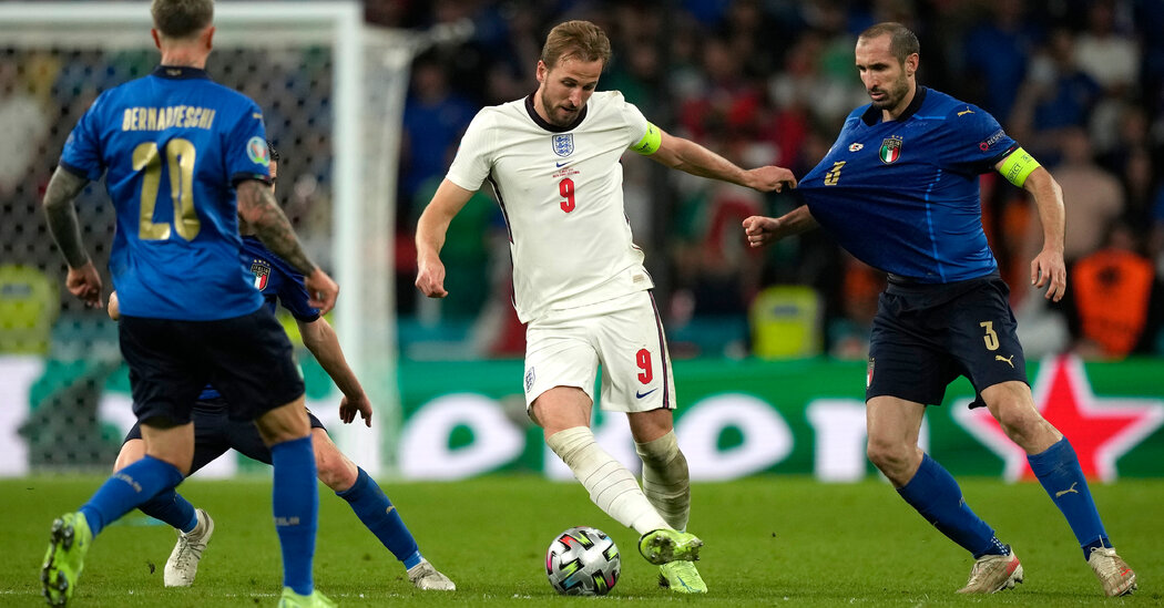 England and Italy Face Off in Extra Time at the Euro 2020 Finals
