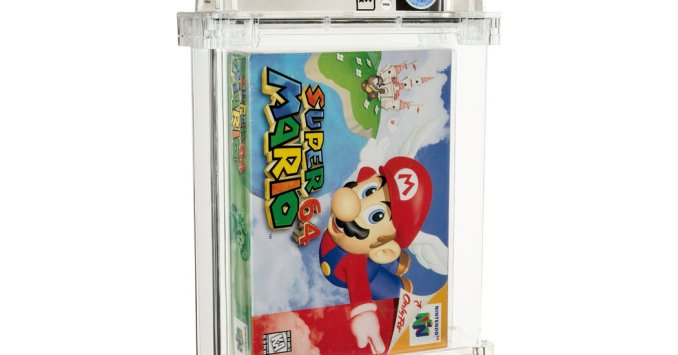 Super Mario 64 Video Game Sells for $1.56 Million