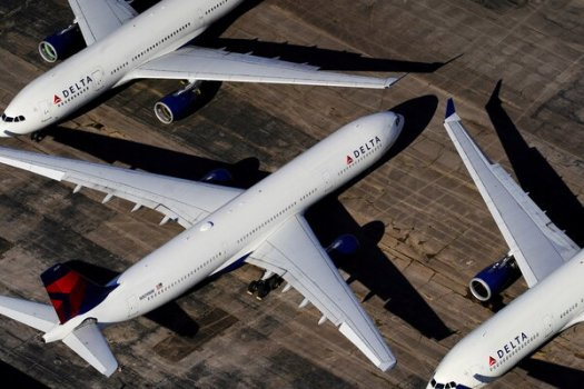 Delta Air Lines said there were promising indications that the travel business was returning to normal.