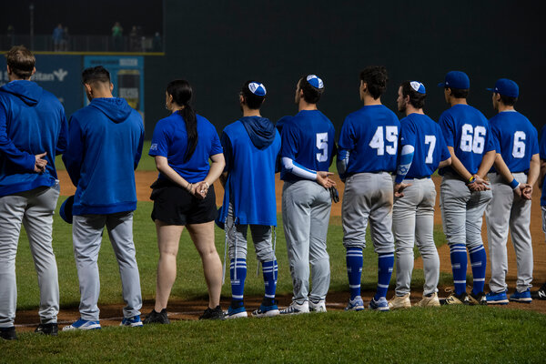 Israel's national baseball team is headed to the Olympics in Tokyo. On an American tour, the team recently played in Pomona, N.Y.