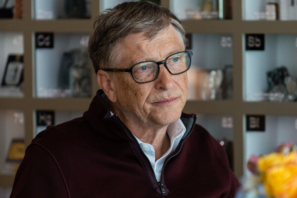 The pandemic has given new life to untruths circulating about Bill Gates, the Microsoft co-founder, and expanded them.