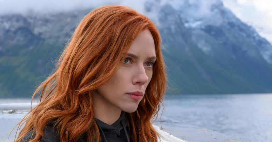 Watch Scarlett Johansson and Florence Pugh Spar in 'Black Widow'