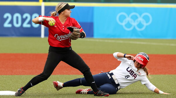 Canada and the United States faced off on Thursday after each won their first game of the tournament.