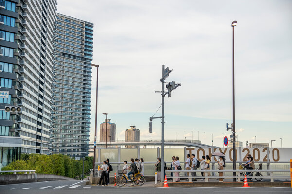 Many Tokyoites seemed eager to leave the city before the start of an Olympics that have been essentially closed to the public because of coronavirus restrictions.
