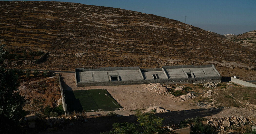 Soccer Team Was Lone Bright Spot in West Bank Village. Virus Took That, Too.
