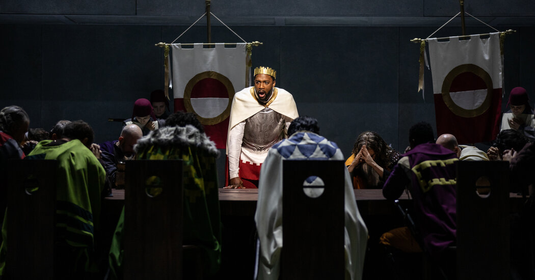 Review: To a Rare King Arthur Opera, Bard Says 'Welcome Back'