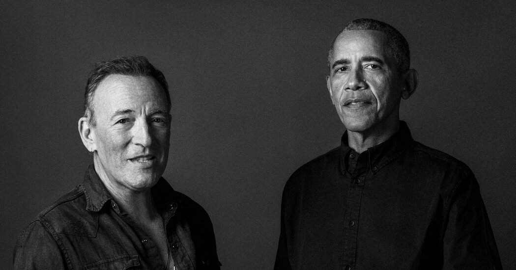 Barack Obama and Bruce Springsteen's Podcast to Become a Book