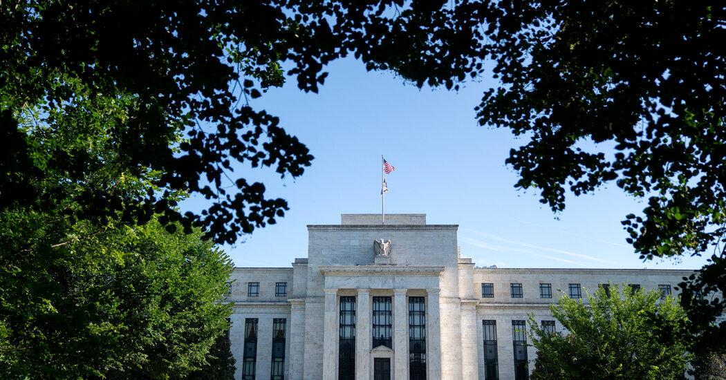 Federal Reserve Keeps Rates Unchanged but Cites 'Progress' Toward Its Goals