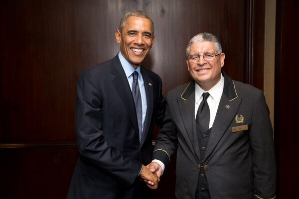 Mr. Elidrissi's bellhop career spanned nine presidents of the United States, all of whom stayed at his hotel, the Waldorf Astoria, including Barack Obama.