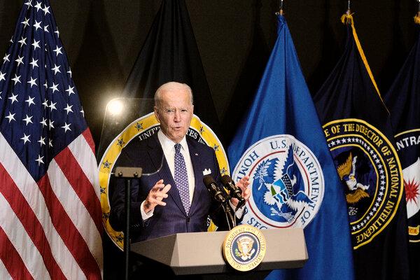 President Biden on Tuesday.