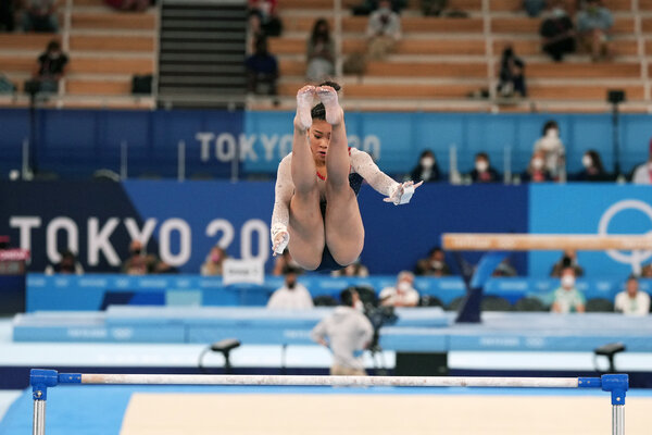 Sunisa Lee has the most difficult uneven bars routine in the world.