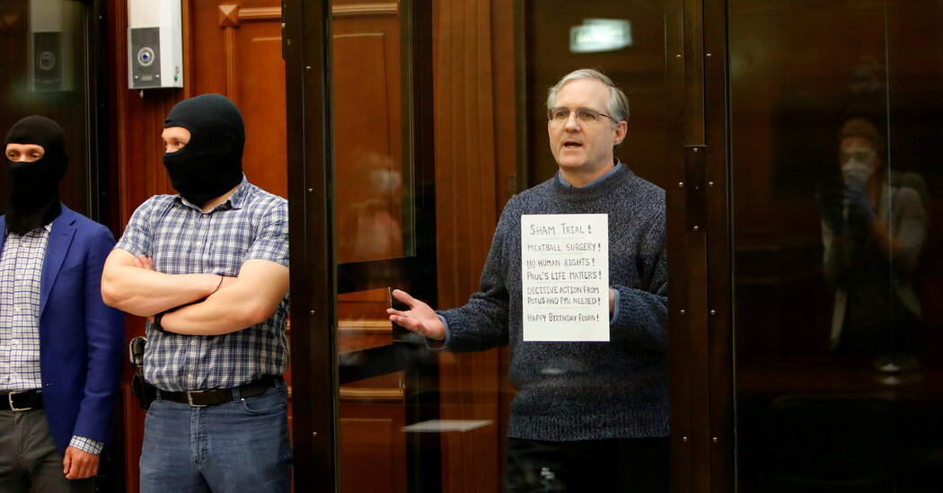 Lawmaker to Call for Renewed Push to Free Paul Whelan, U.S. Marine Jailed in Russia