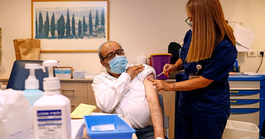 Israel to Give Third Covid Vaccine Shots to Those Over 60