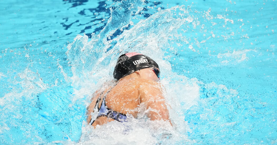 Katie Ledecky's Medal Count: More Golds Than Any Female Swimmer