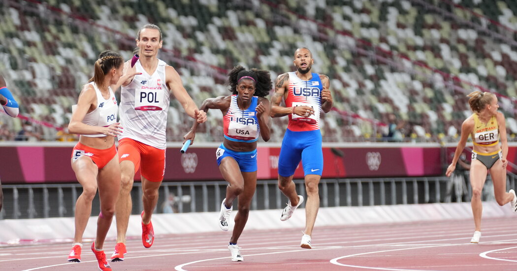 Mixed-Gender Relays Make Their Olympic Debut