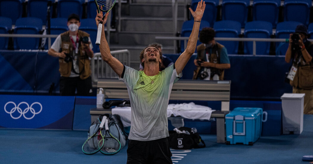 Alexander Zverev Wins Gold in Olympic Men's Singles Tournament