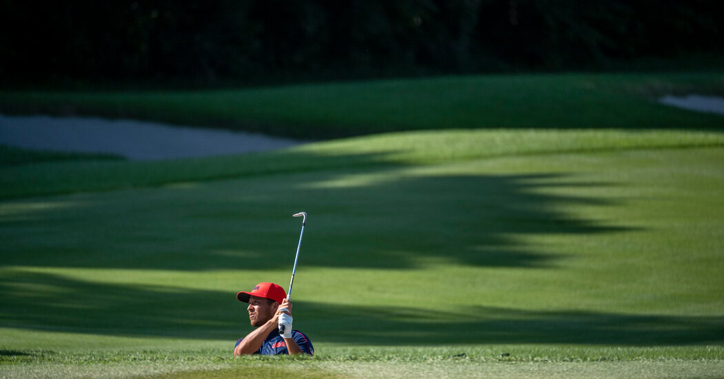 A PGA Star Wins Gold in Golf, an Event Unmoored From the Games