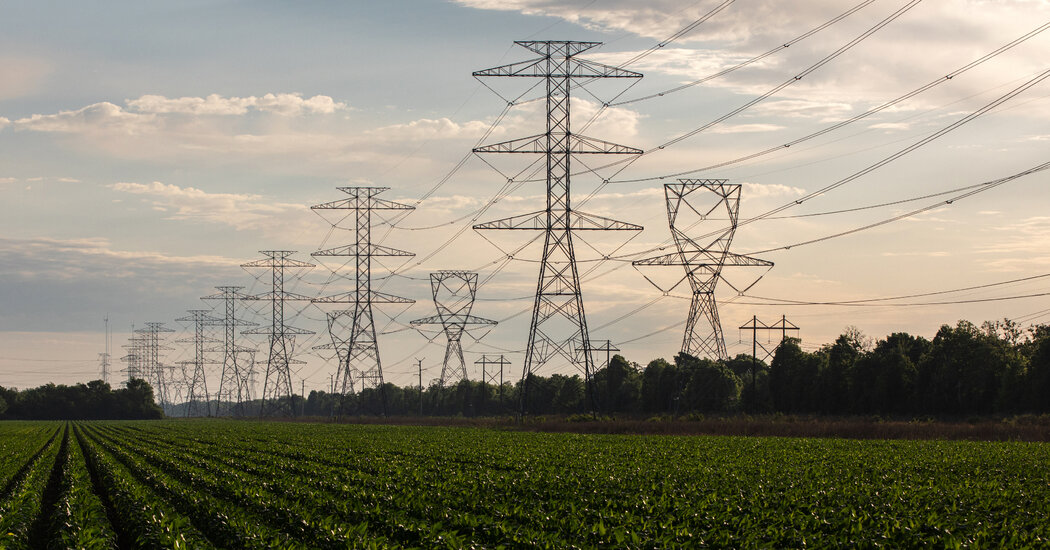 Infrastructure Bill Includes  Billion for Electricity Grid
