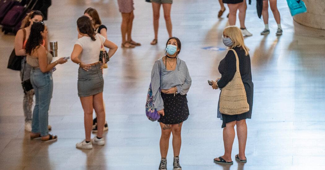 De Blasio Urges Masking Again, but Stops Short of a Mandate
