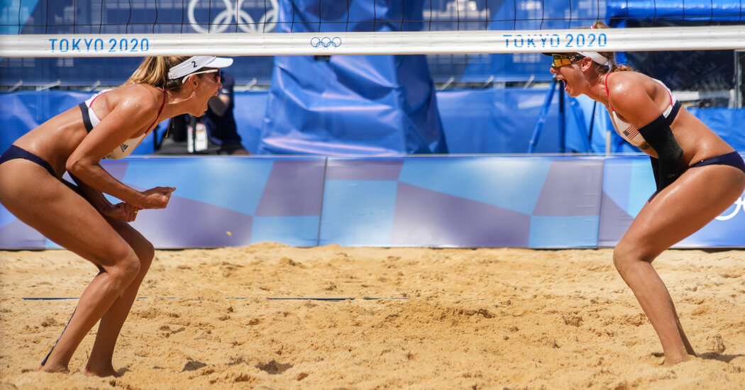 April Ross and Alix Klineman Advance to Beach Volleyball Semifinals