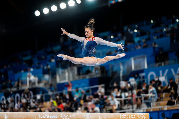Sunisa Lee qualified third on the beam, and then won the all-around gold medal.