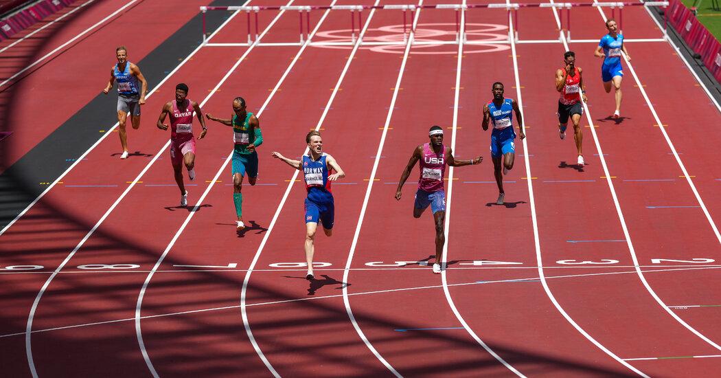 Karsten Warholm Sets World Record in 400-Meter Hurdles